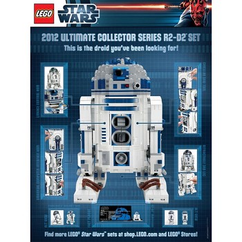 LEGO Star Wars Sets: Classic 5001162 Limited Edition R2-D2 Poster NEW