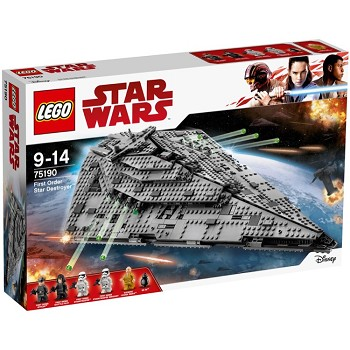 LEGO Star Wars Sets: 75190 First Order Star Destroyer NEW