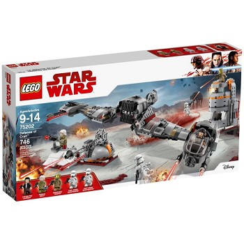 LEGO Star Wars Sets: 75202 Defense of Crait NEW
