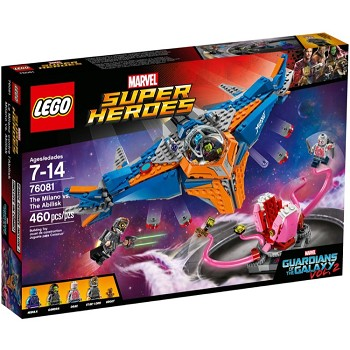 LEGO Super Heroes Sets: Marvel 76081 The Milano vs. The Abilisk NEW