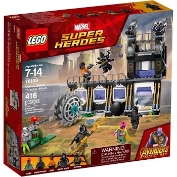 LEGO Super Heroes Sets: Marvel 76103 Corvus Glaive Thresher Attack NEW
