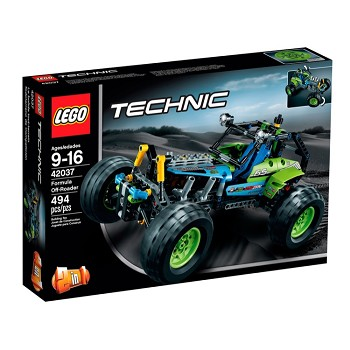 LEGO Technic Sets: 42037 Formula Off-Roader NEW *Damaged Box*
