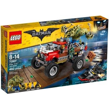 LEGO The LEGO Batman Movie Sets: 70907 Killer Croc Tail-Gator NEW