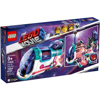 LEGO The LEGO Movie Sets: 70828 The LEGO Movie 2 Pop-Up Party Bus NEW