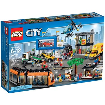 LEGO Town Sets: City 60097 City Square NEW