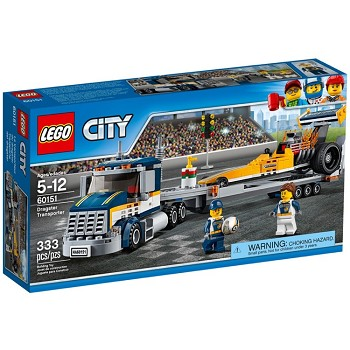 LEGO Town Sets: City 60151 Dragster Transporter NEW