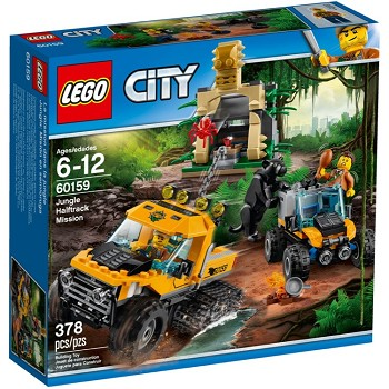 LEGO Town Sets: City 60159 Jungle Halftrack Mission NEW
