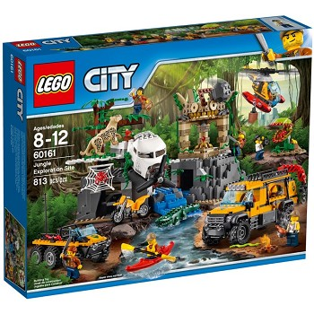 LEGO Town Sets: City 60161 Jungle Exploration Site NEW *Damaged Box*