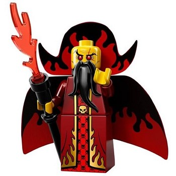 LEGO Collectible Minifigures: 71008 Series 13 Evil Wizard NEW