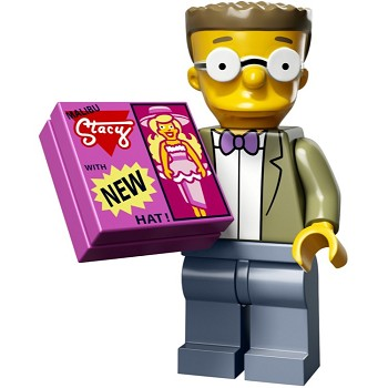 LEGO Collectible Minifigures: 71009 The Simpsons Series 2 Waylon Smithers NEW