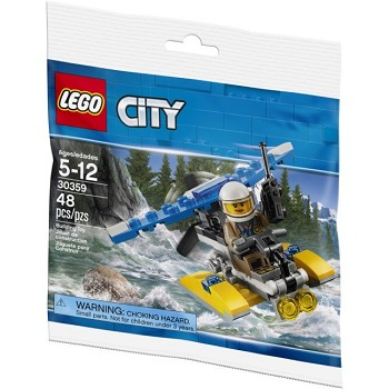 LEGO Town Sets: City 30359 Police Water Plane NEW