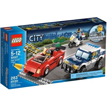 LEGO Town Sets: City Police 60007 High Speed Chase NEW *Damaged Box*
