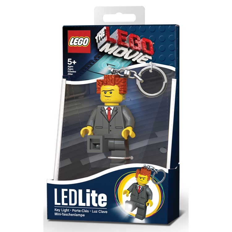 LEGO The LEGO Movie President Business LED Key Light NEW