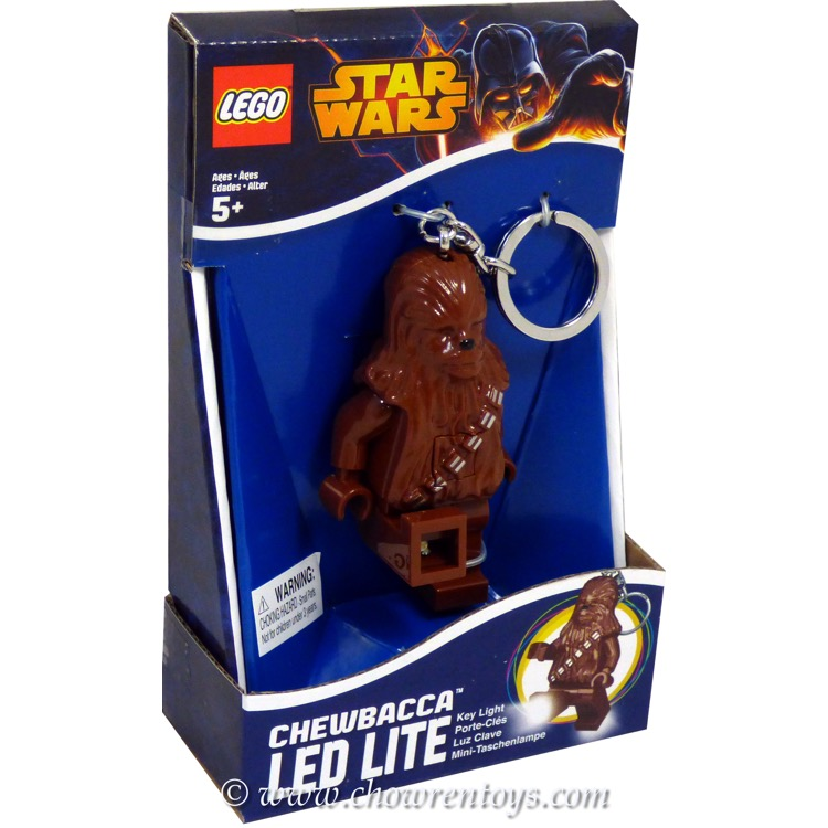 LEGO Star Wars Chewbacca LED Key Light NEW