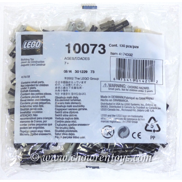LEGO Accessories Sets: Bulk Bricks 10073 Technic Bushes NEW