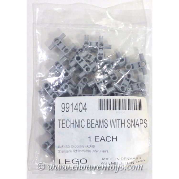 LEGO Accessories Sets: Service Packs 991404 Technic Beams with Snaps NEW