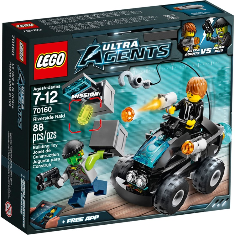 LEGO Ultra Agents Sets: 70160 Riverside Raid NEW