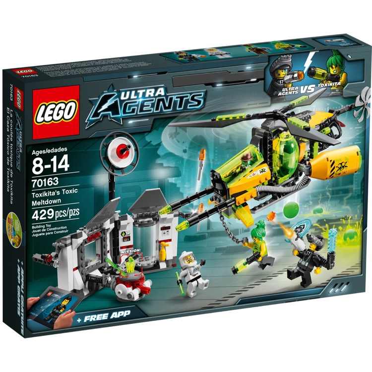 LEGO Ultra Agents Sets: 70163 Toxikita's Toxic Meltdown NEW