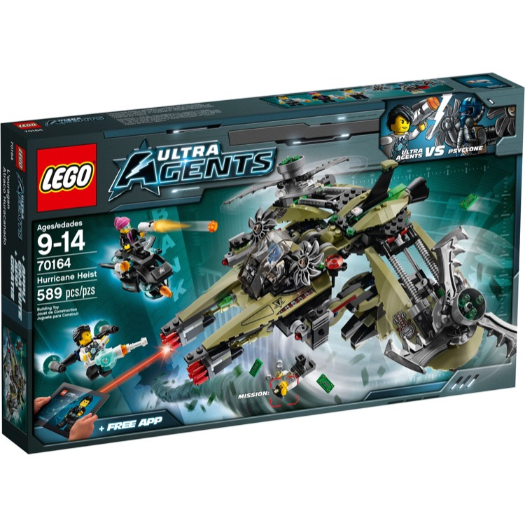 LEGO Ultra Agents Sets: 70164 Hurricane Heist NEW