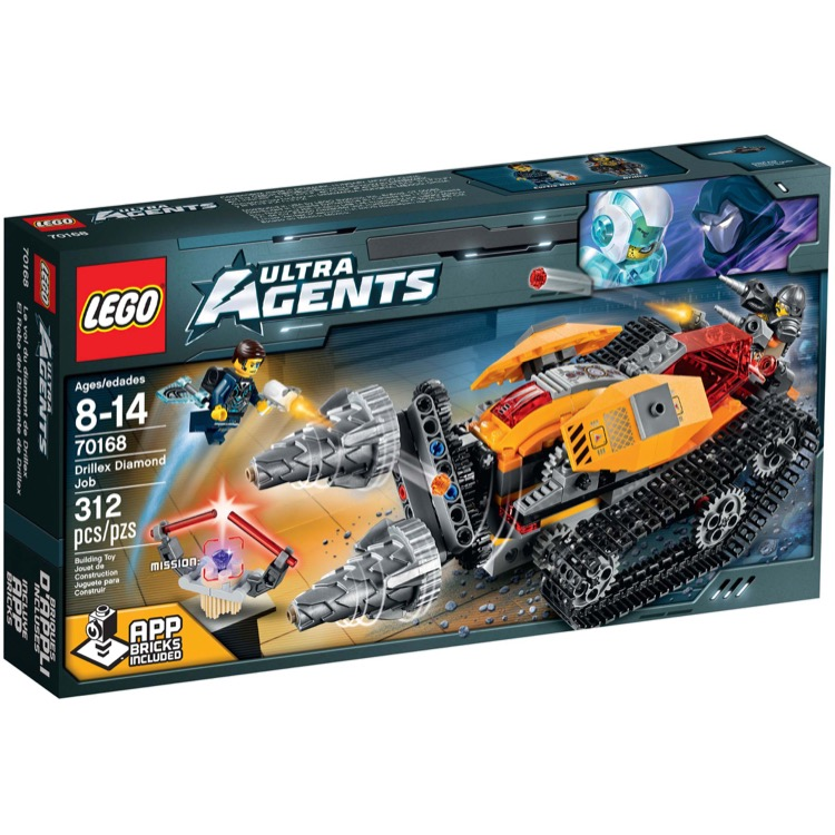 LEGO Ultra Agents Sets: 70168 Drillex Diamond Job NEW