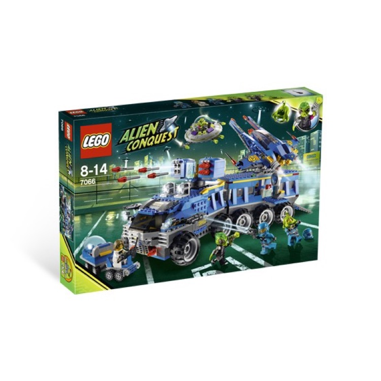 LEGO Alien Conquest Sets: 7066 Earth Defense HQ NEW