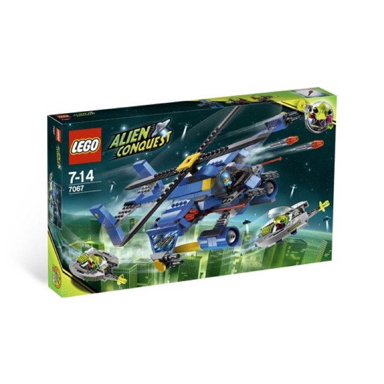 LEGO Alien Conquest Sets: 7067 Jet-Copter Encounter NEW