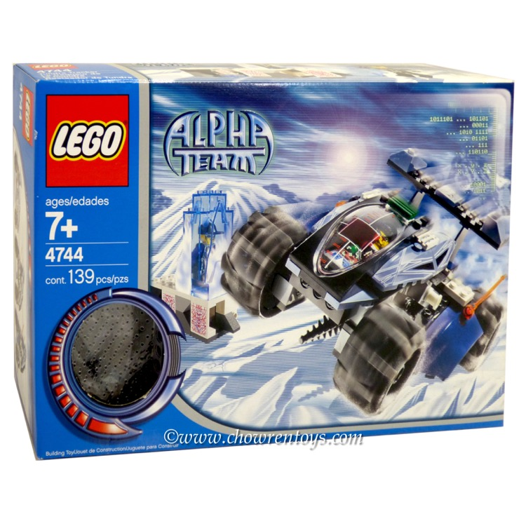 LEGO Alpha Team Sets: 4744 Tundra Tracker NEW *Damaged Box*