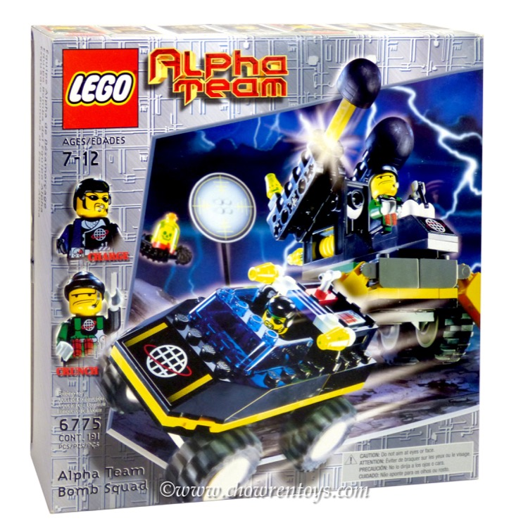 LEGO Alpha Team Sets: 6775 Alpha Team Bomb Squad NEW