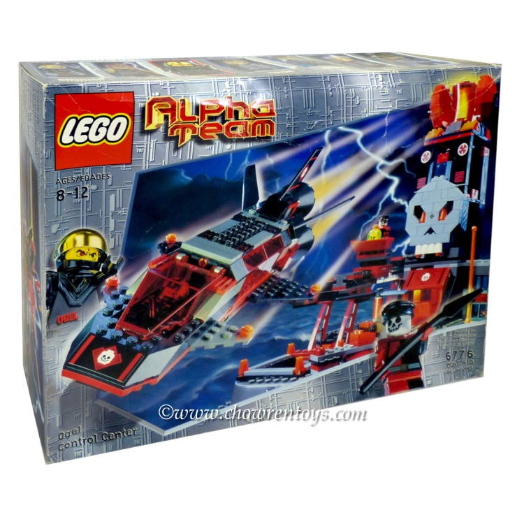 LEGO Alpha Team Sets: 6776 Ogel Control Center NEW *Rough Shape*