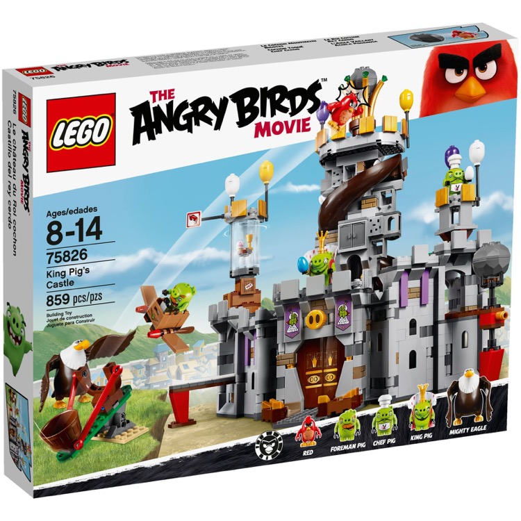 LEGO Angry Birds Sets: 75826 King Pig's Castle NEW *Damaged Box*