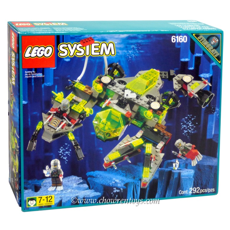 LEGO Aquazone Sets: 6160 Sea Scorpion NEW