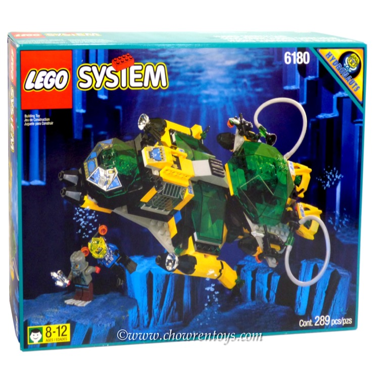 LEGO Aquazone Sets: 6180 Hydro Search Sub NEW