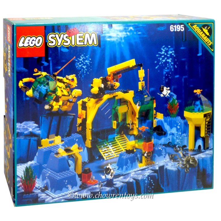 LEGO Aquazone Sets: 6195 Neptune Discovery Lab NEW