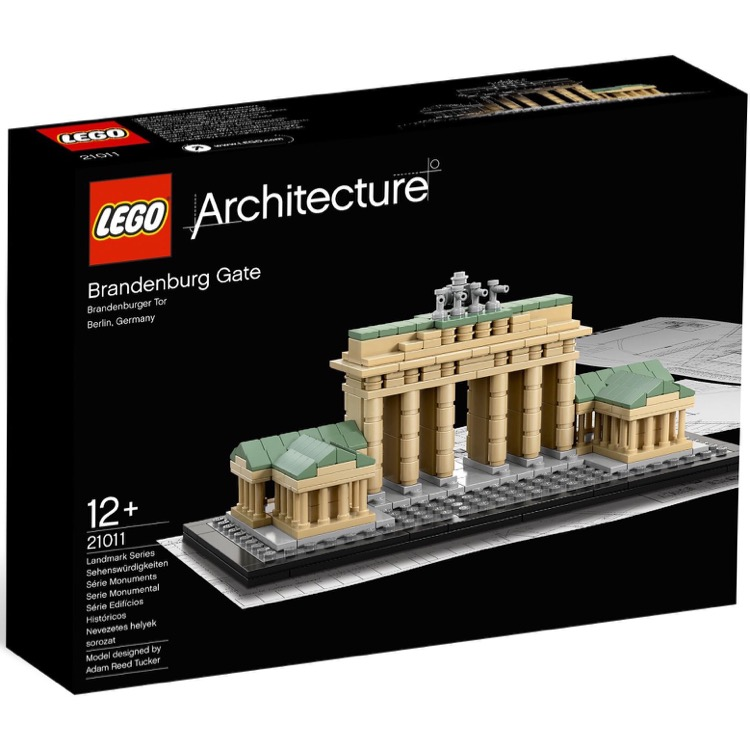 LEGO Architecture Sets: 21011 Brandenburg Gate NEW