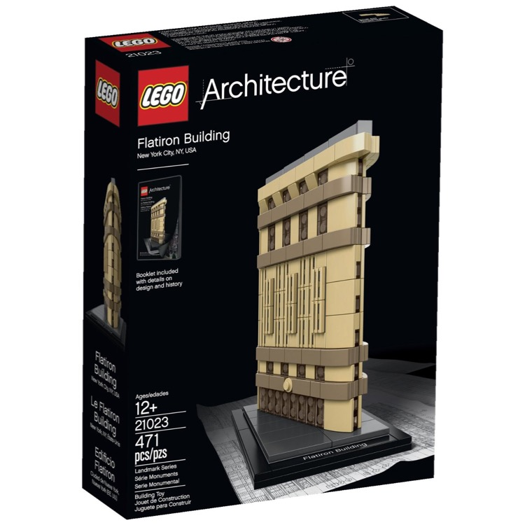 LEGO Architecture Sets: 21023 Flatiron Building, New York NEW