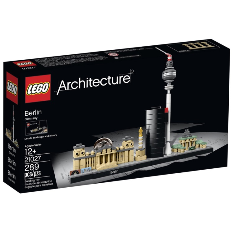 LEGO Architecture Sets: 21027 Berlin NEW