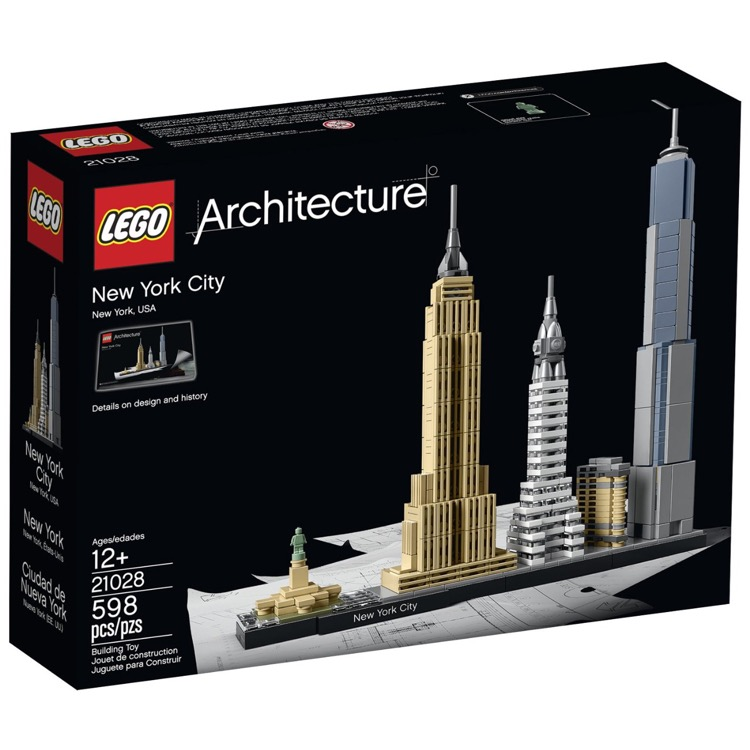 LEGO Architecture Sets: 21028 New York City NEW