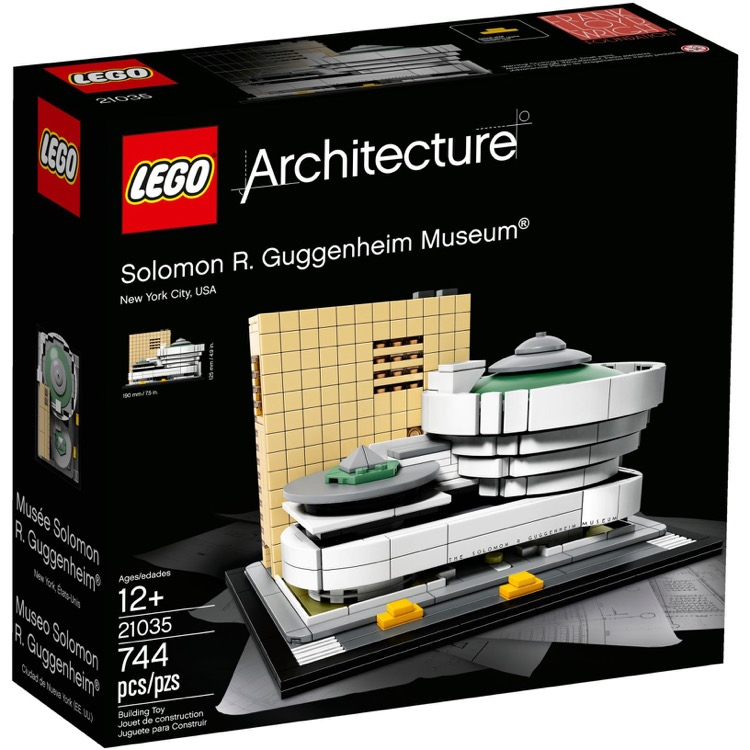 LEGO Architecture Sets: 21035 Solomon R. Guggenheim Museum NEW