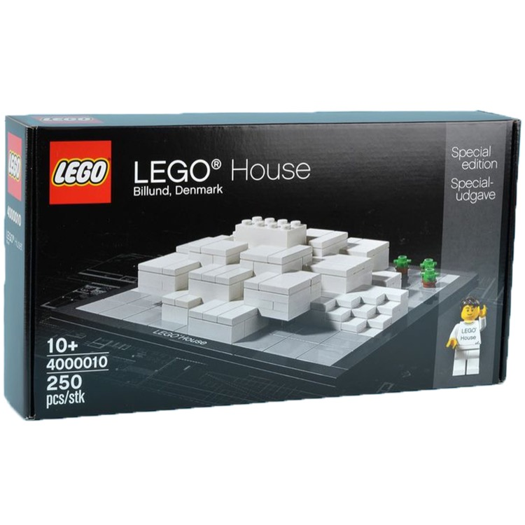 LEGO Architecture Sets: 4000010 LEGO House NEW  *Damaged Box*