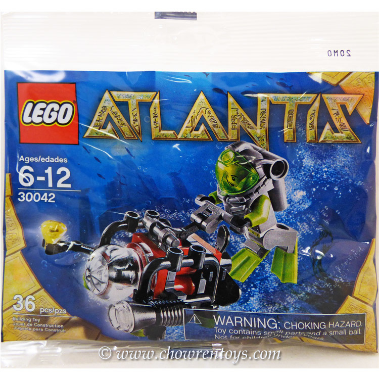 LEGO Atlantis Sets: 30042 Mini Sub NEW