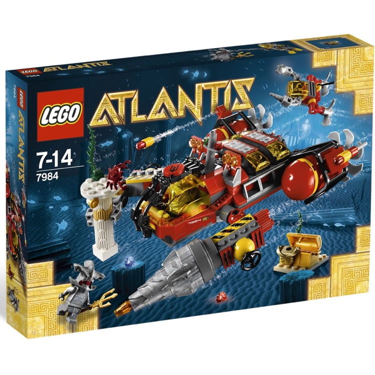LEGO Atlantis Sets: 7984 Deep Sea Raider NEW