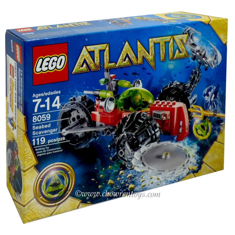 LEGO Atlantis Sets: 8059 Seabed Scavenger NEW