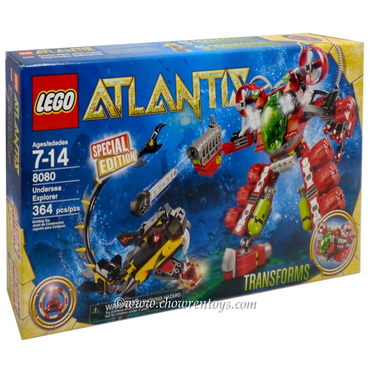 LEGO Atlantis Sets: 8080 Undersea Explorer NEW