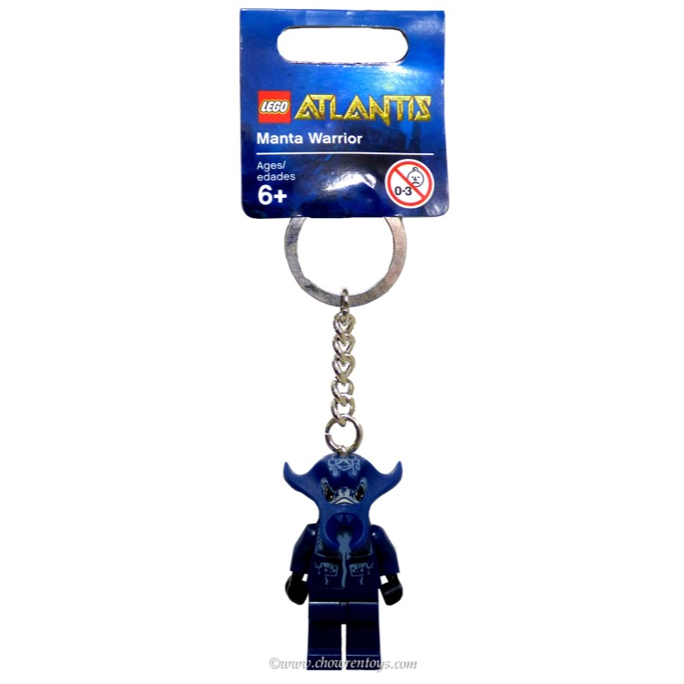 LEGO Atlantis Sets:  852775 Manta Warrior Key Chain NEW