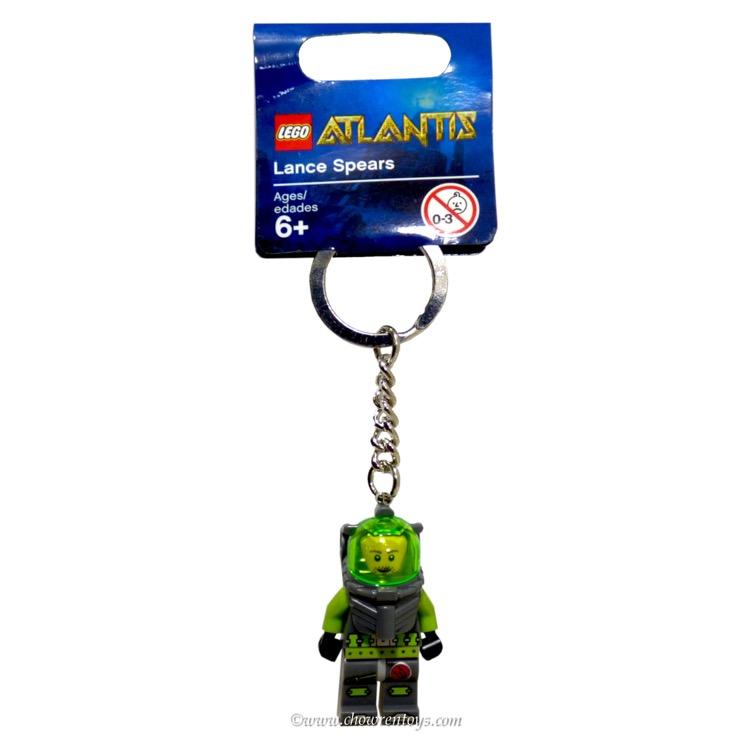 LEGO Atlantis Sets: 852776 Diver Key Chain NEW