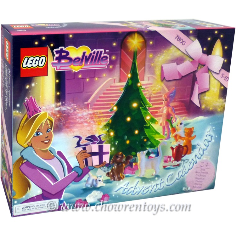 LEGO Belville Sets: 7600 Advent Calendar NEW