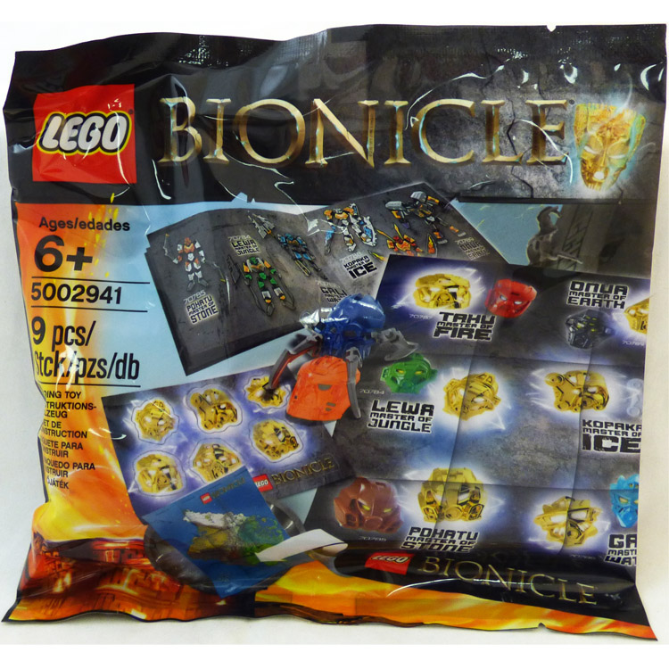 LEGO Bionicle Sets: 5002941 Bionicle Hero Pack NEW