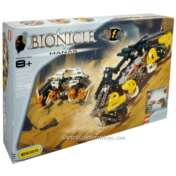 LEGO Bionicle Sets: Raha 8539 Manas NEW *Rough Shape*