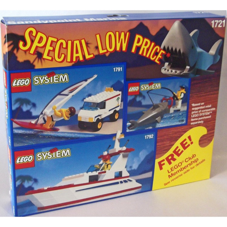 LEGO Town Sets: 1721 Sandypoint Marina Value Pack NEW