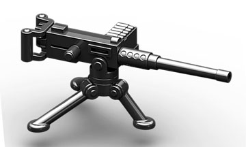 BrickArms: M2HB + M3 Tripod, Color: Black